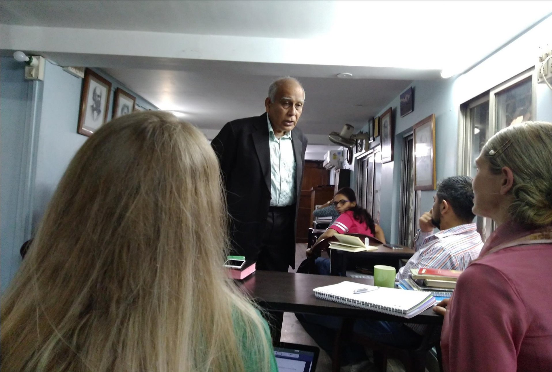Dr. Debaish Mukherjee sharing his long experience with LMs