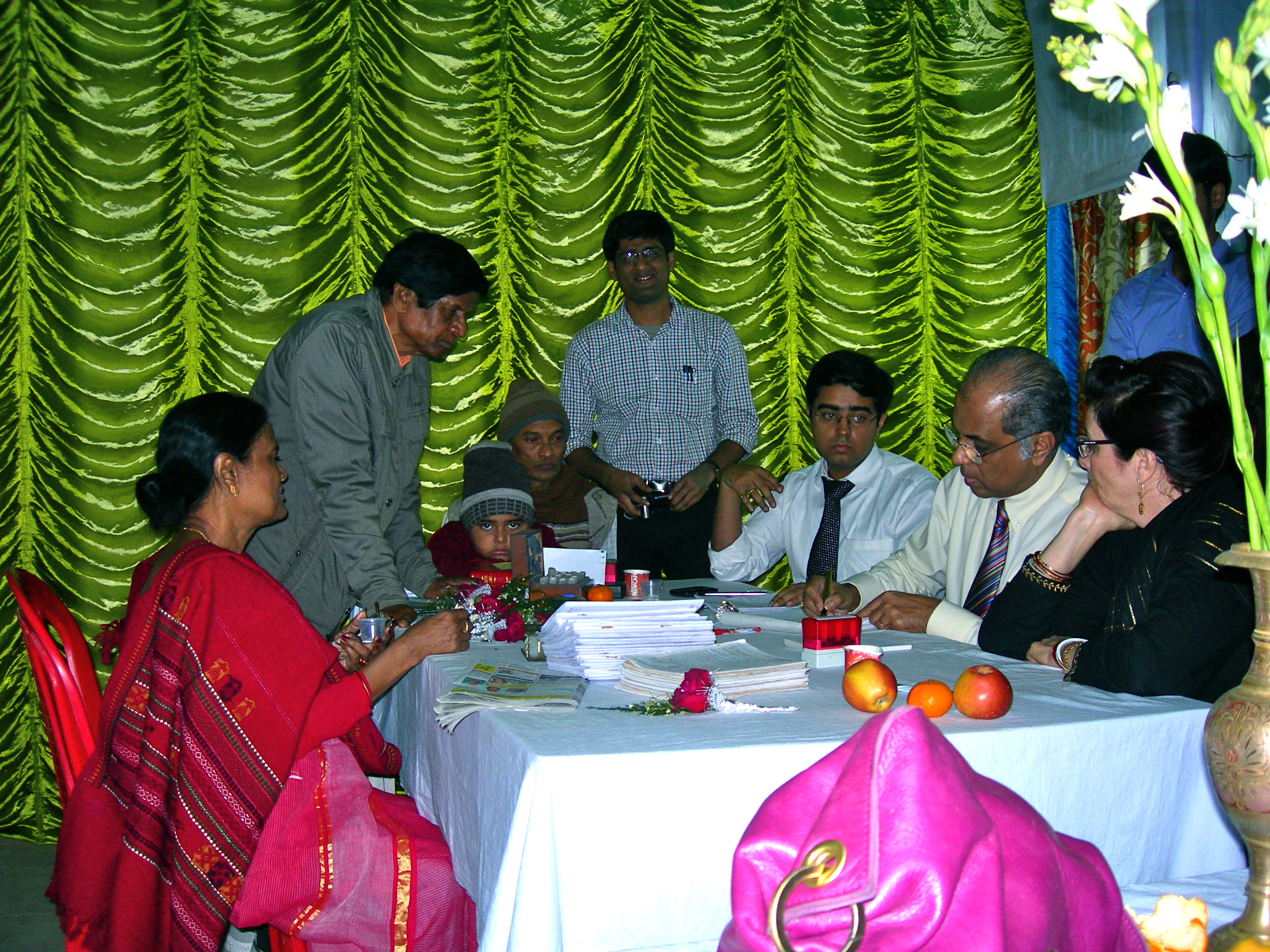 Fast prescribing at Kakdwip Rural Clinic