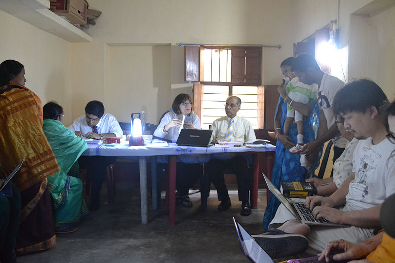 Rural Clinic-Fast prescribing sessions with Subrata, Janet & Saptarshi