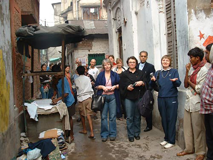 Slum Clinic, Calcutta.