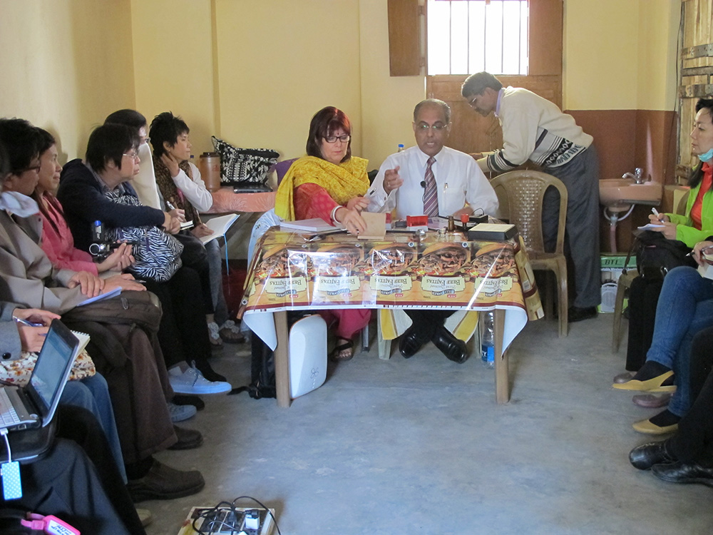 Subrata and Janet in Rural Prescribing Clinic
