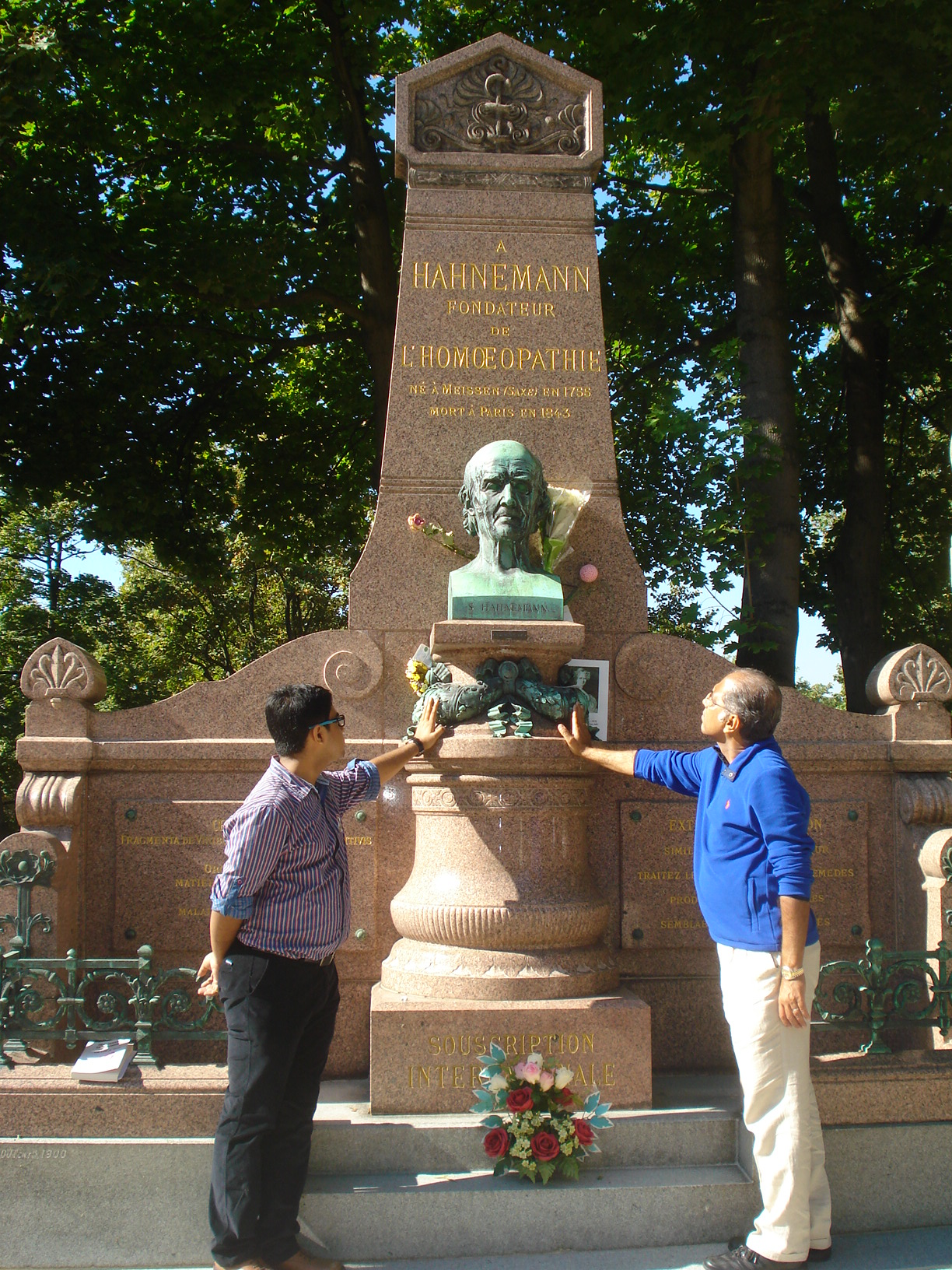 Father & Son in Master's Grave