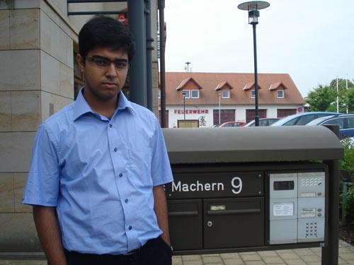Saptarshi in Machern village (Hahnemann was very poor here).