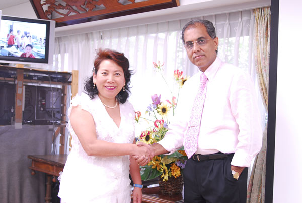 Felicitation by Dr. Torako Yui, Principal of the Japanese College in Tokyo.
