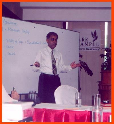 Dr. Banerjea in Thailand
