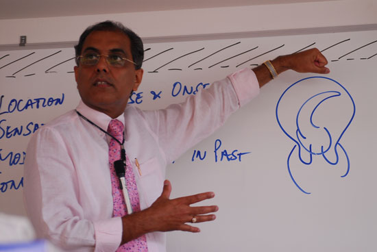 Subrata's passionate style to share information and clinical tips