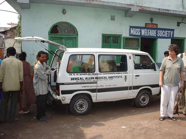 Mobile Homoeo Van